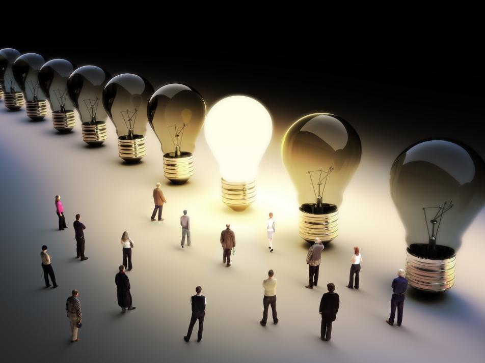 kreative und innovative Ideen sind gefragt