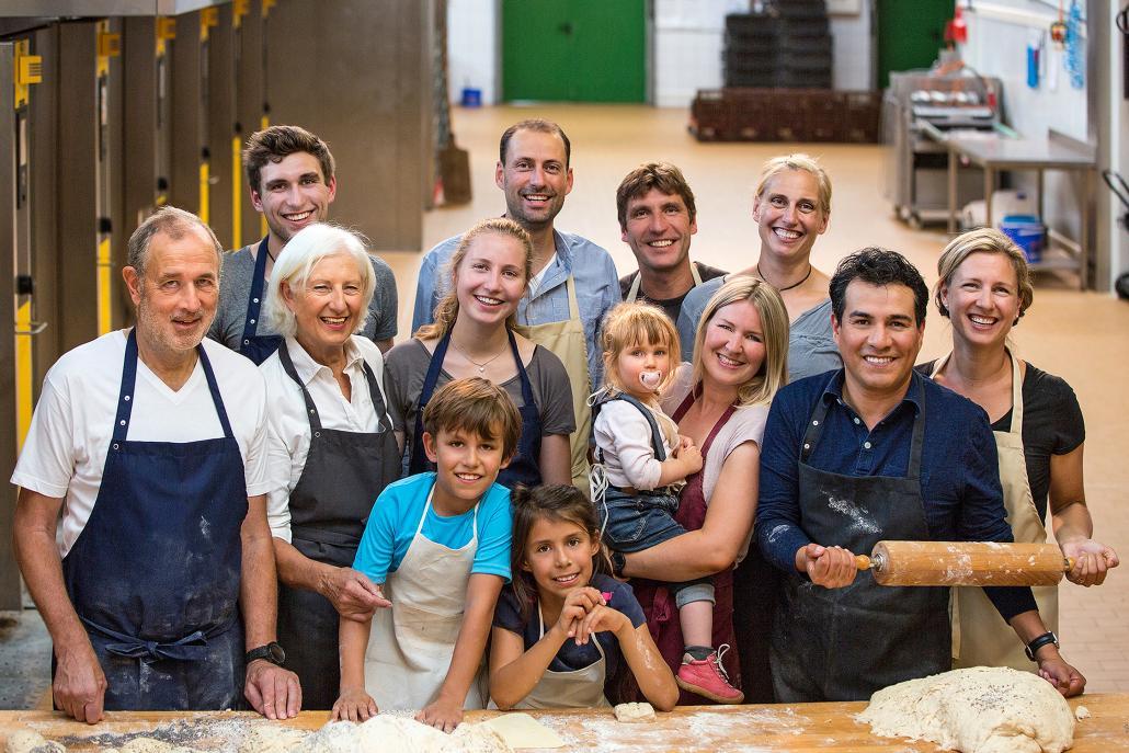 Bäckerei Günther ist ein Kieler Familienbetrieb