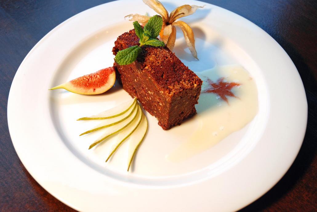 Das Louf empfiehlt einen glutenfreien Schokoladenkuchen