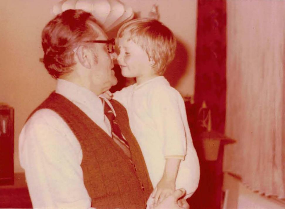 Matthias fachsimpelte mit seinem Onkel