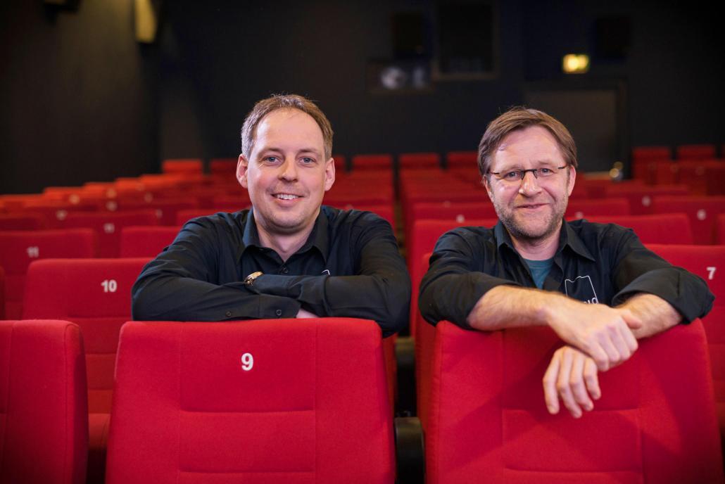Dennis T. Jahnke (li.), 40 Jahre, und Matthias Ehr, 44 Jahre