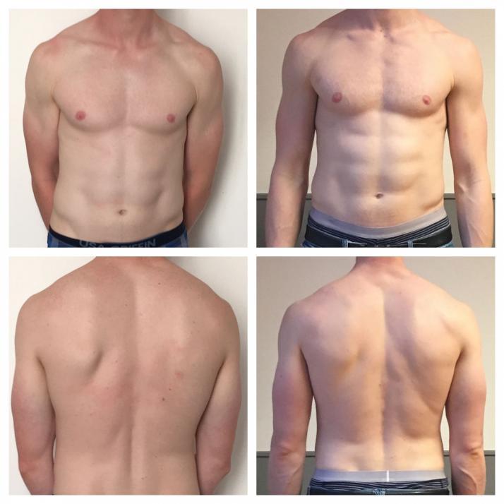 """Einer der Schwerpunkte des Experten ist das Ernährungs- undLifestylecoaching """"Before And After"""""""
