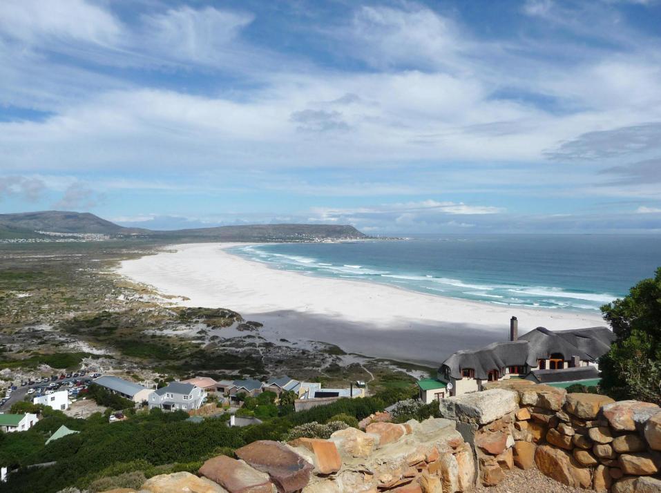 Die malerische Landschaft von Kapstadt