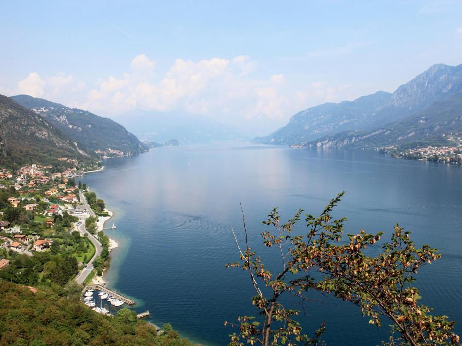 In Italien kam dann echtes Urlaubsflair auf