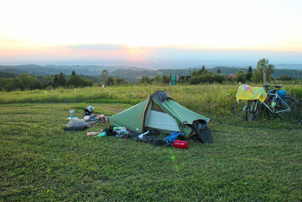 Camping weiter im Süden