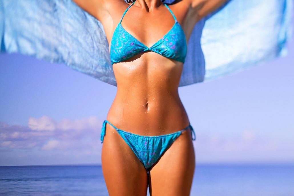 Die perfekte Bikinizone
