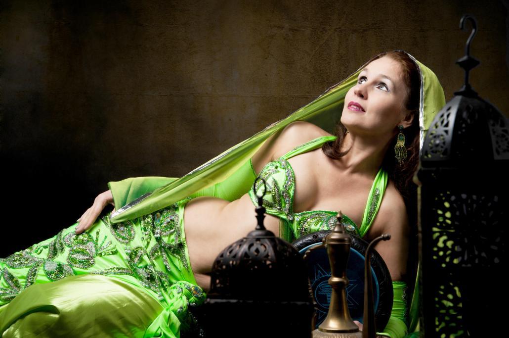 Orient-Tänzerin Alexandra