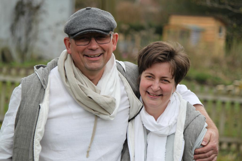 Nathalie und Josef Skultety von nahtur-design haben die lokalen Aussteller für den 2. KunstGenuss ganz bewusst ausgewählt