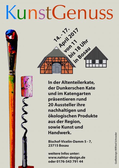 nahtur-designlädt an Ostern zum 2. KunstGenuss ein