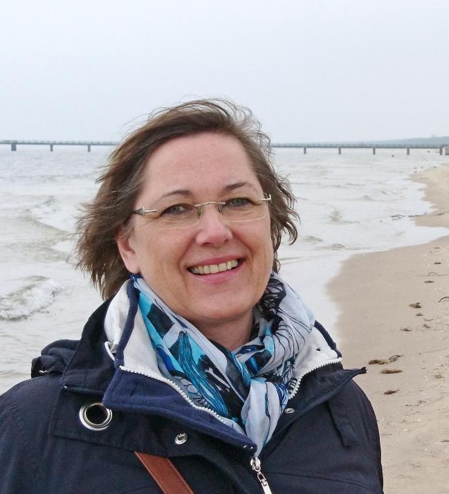 Die Kielerin Manuela Junghölzer