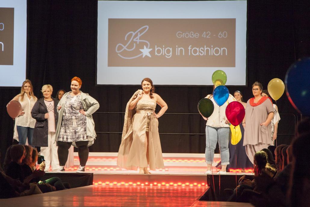 Selbstbewusst extravagant präsentiert sich 2b big in fashion