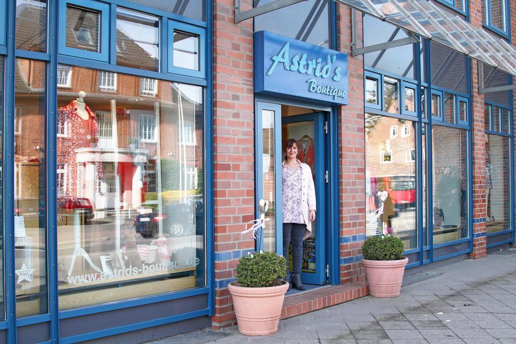 Cathrin Schromm führt Astrids Boutique in zweiter Generation