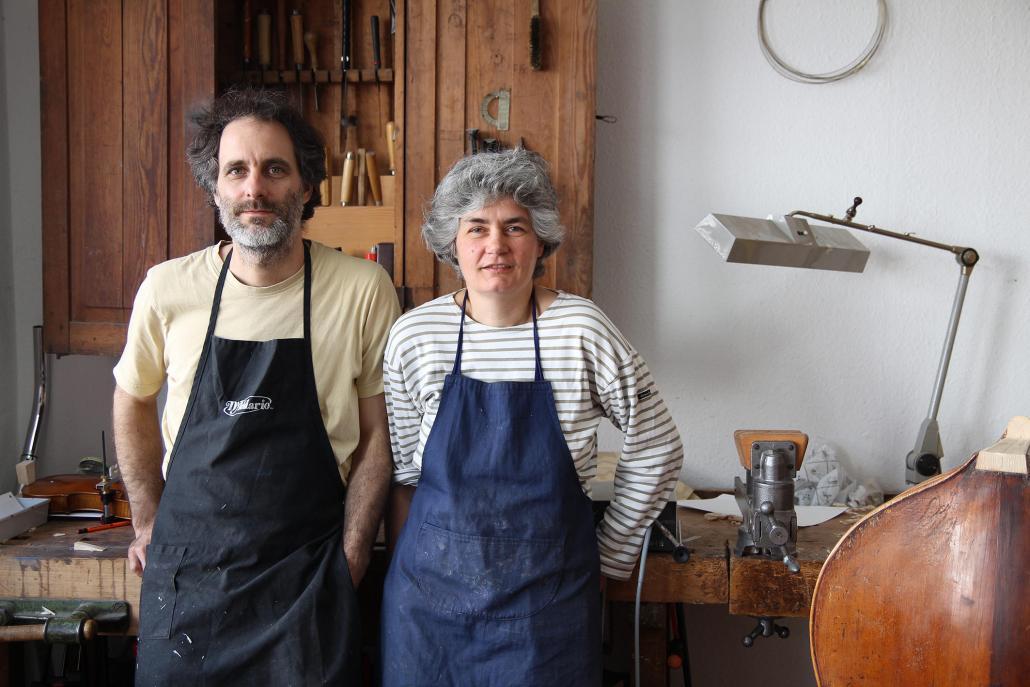 Das Ehepaar Ulrich und Heide Albrecht