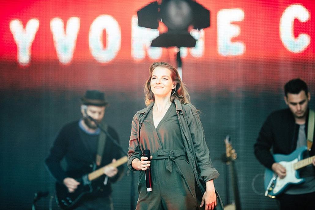 Bildergalerie: Yvonne Catterfeld auf der NDR-Bühne