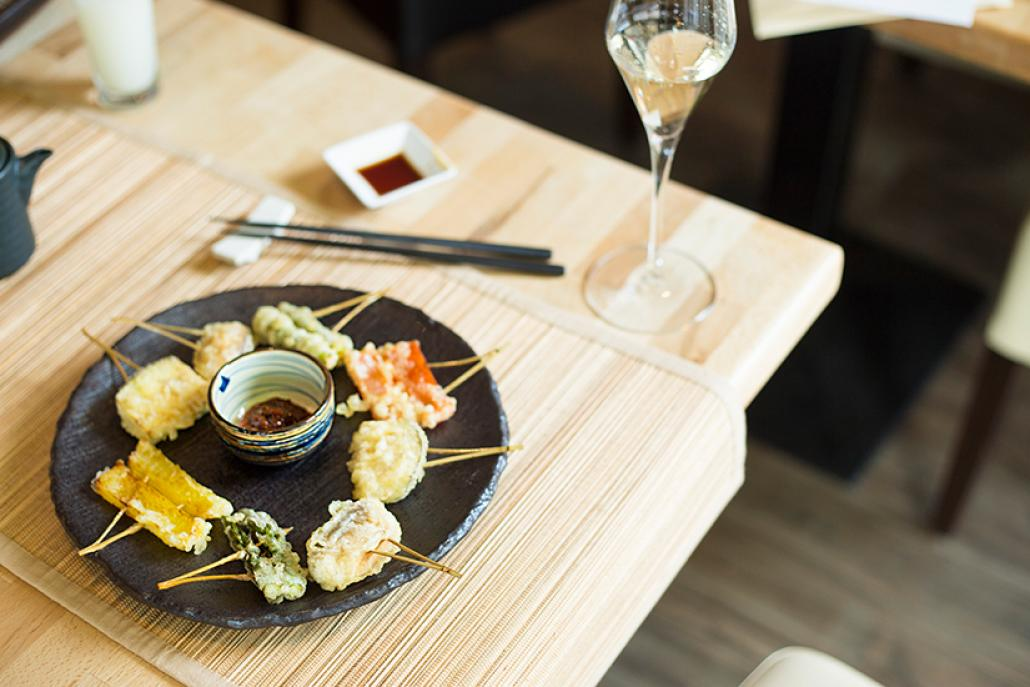 Im ann Restaurant kann man ab jetzt die japanischen Kaiseki-Küche genießen