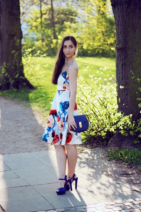 Irina in ihrem liebsten Sommeroutfit