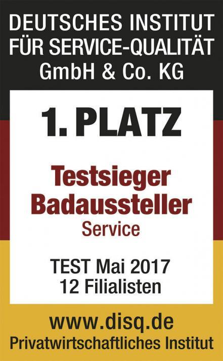 Der beste Badaussteller Deutschlands