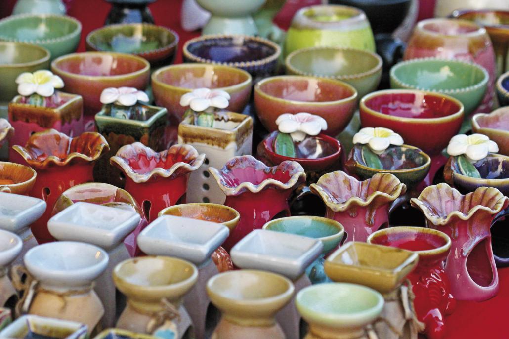 Auf dem Handwerkermarkt gibt es am 22. Juli einige handgemachte Unikate zu entdecken