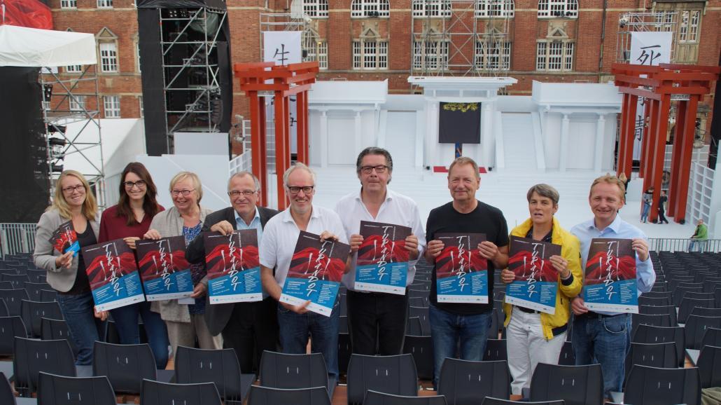 """Am 15. Juli findet die Premiere des Stückes """"Turandot"""" von Giacomo Puccini auf dem Rathausplatz statt"""