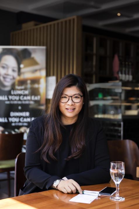 Yuen Chi Kwong ist die leidenschaftliche Restaurantchefin des Yummy