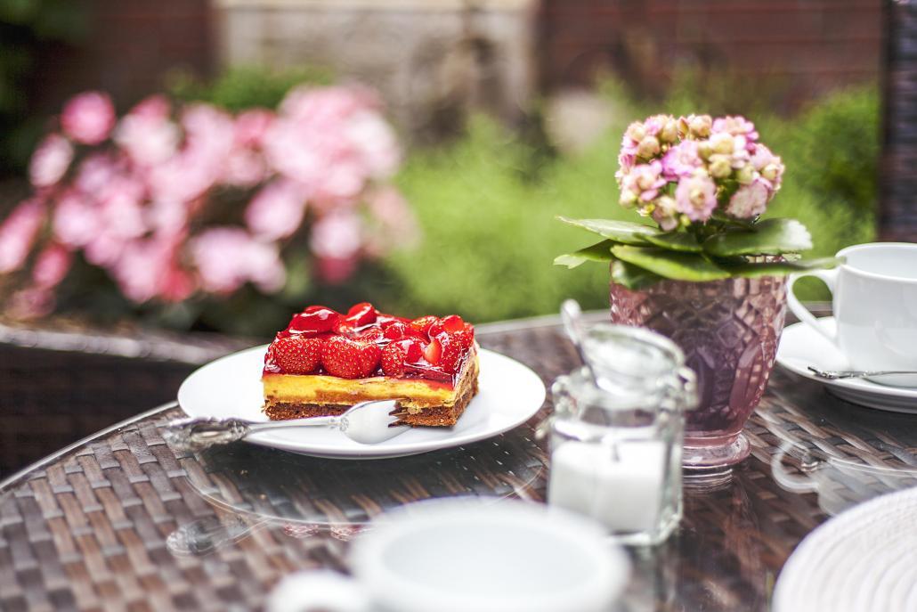 Der Erdbeerkuchen bei Sonja's Kuchenstübchen schmeckt einfach himmlisch