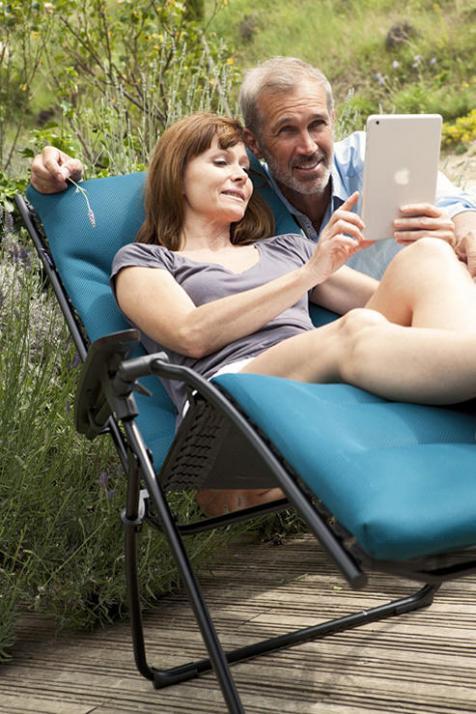 Relaxliegen von Lafuma sind nicht nur total bequem, sondern auch gesund