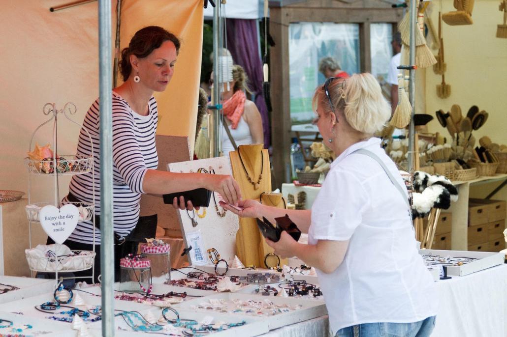 Vom 24. bis 27. August findet der handgemacht-Markt in Eckernförde statt
