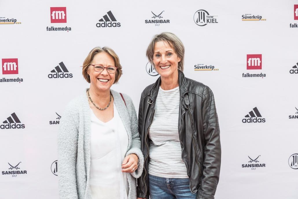 Renate Beyer und Katrin Taudt (v. li.)
