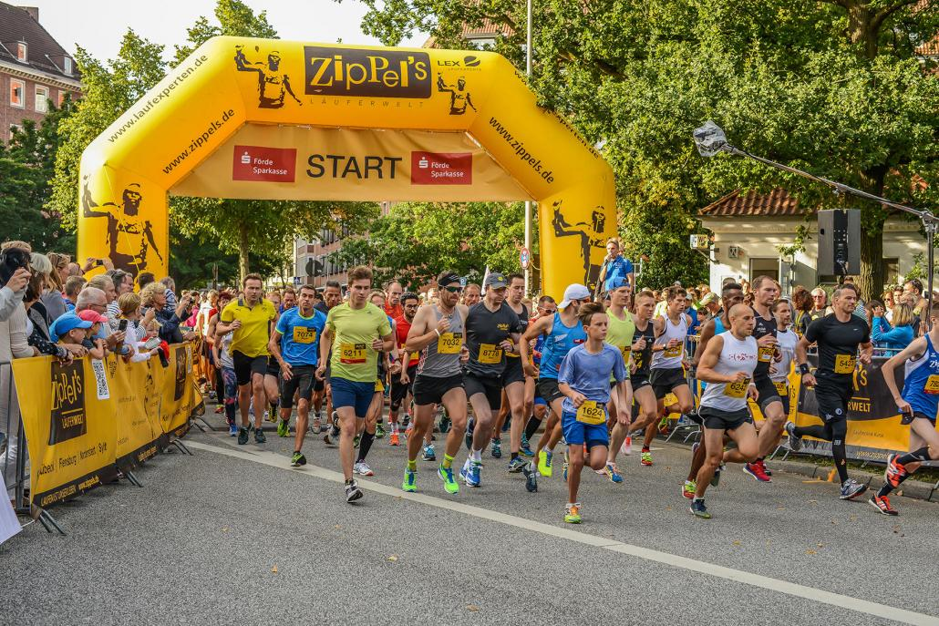 Am 10. September gehen wieder tausende Sportler beim Kiel.Lauf an den Start