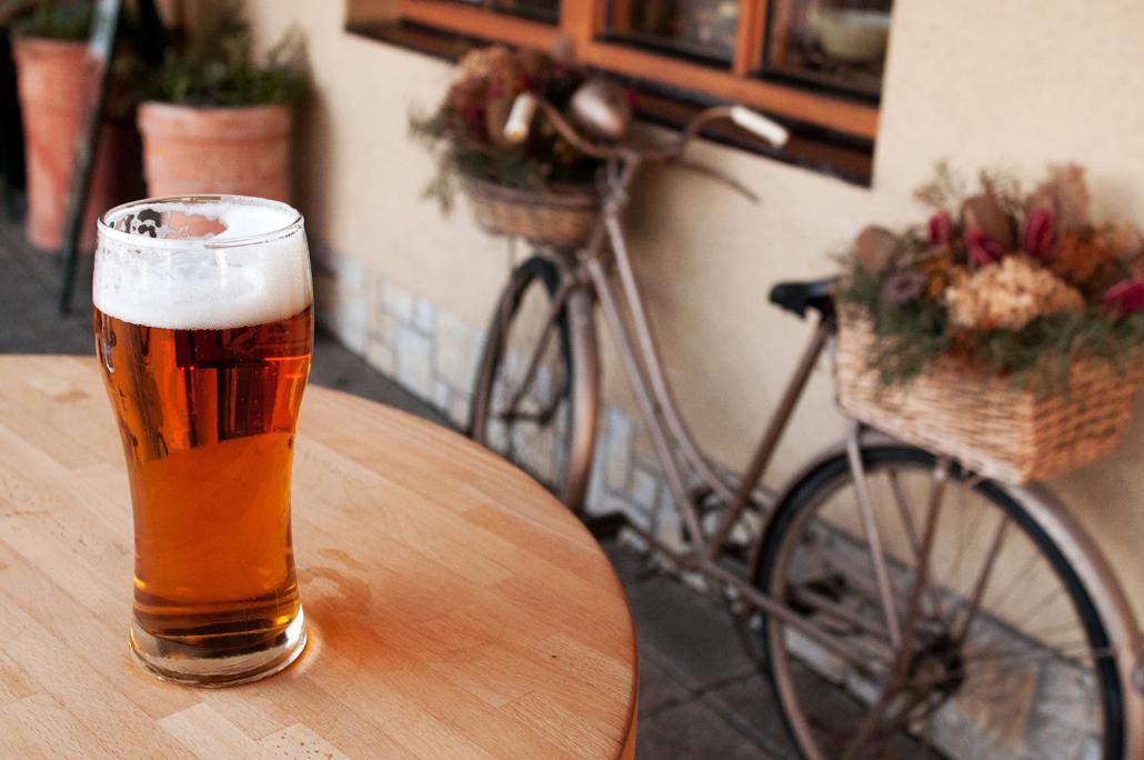Nach einer ausgelassenen Feier sollte das Fahrrad lieber stehen bleiben