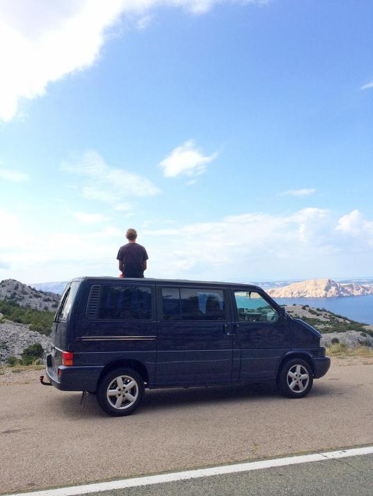 Redakteur Bastian war in diesem Jahr bereits zwei Mal im Bulli auf Reisen