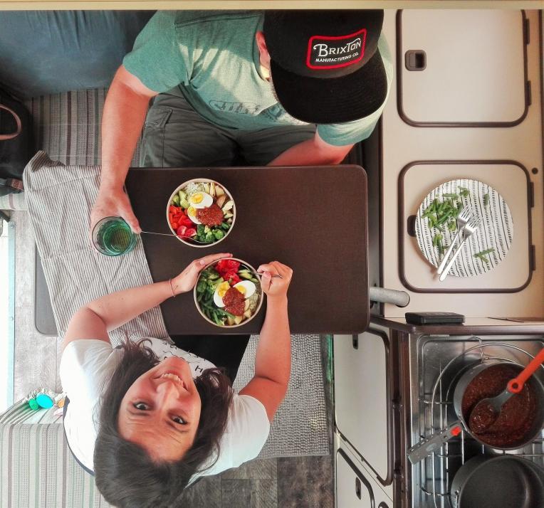 Neben vielen Reisetipps stellt Kati auf ihrem Blog auch leckere Camping-Rezepte vor