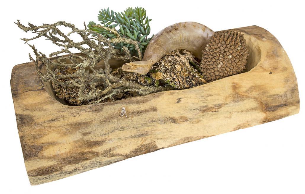 Dekorative Holzschale, 13,50 Euro. Gefunden bei Siak Apart