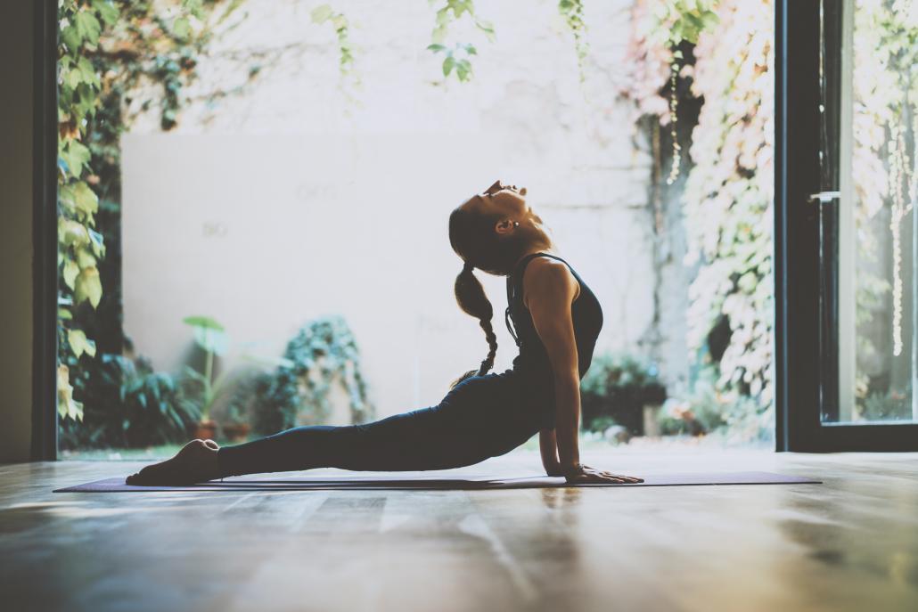 Yoga hält fit und wirkt entspannend