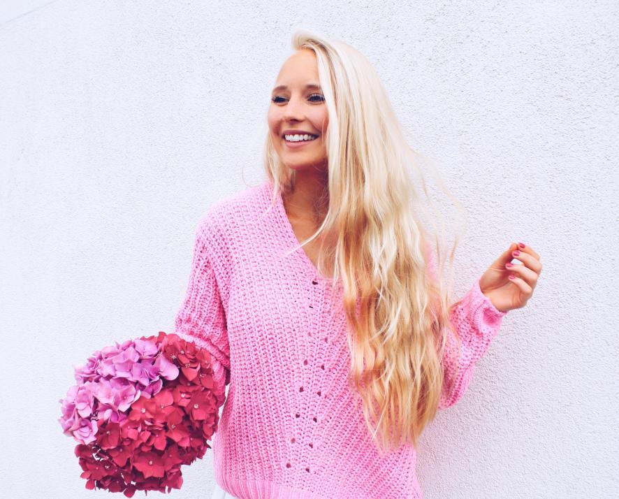 Julis Lieblingsfarbe: Pink!