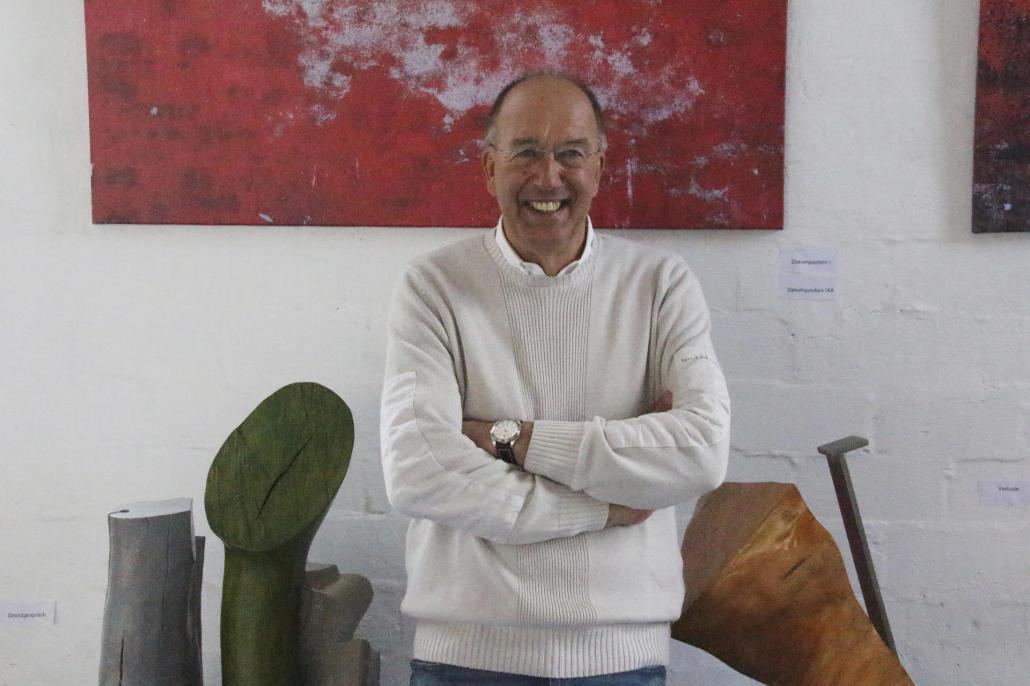 Berthold Grzywatz hat dem Lokschuppen neues Leben eingehaucht