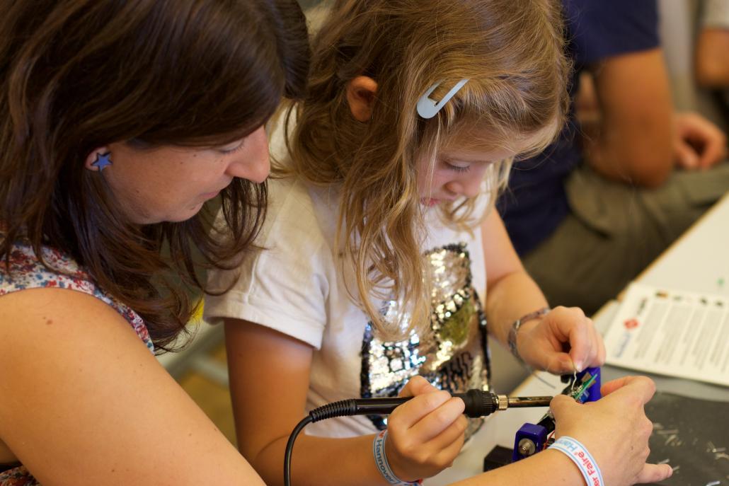 Die Maker Faire ist ein spannendes Event für Jung und Alt