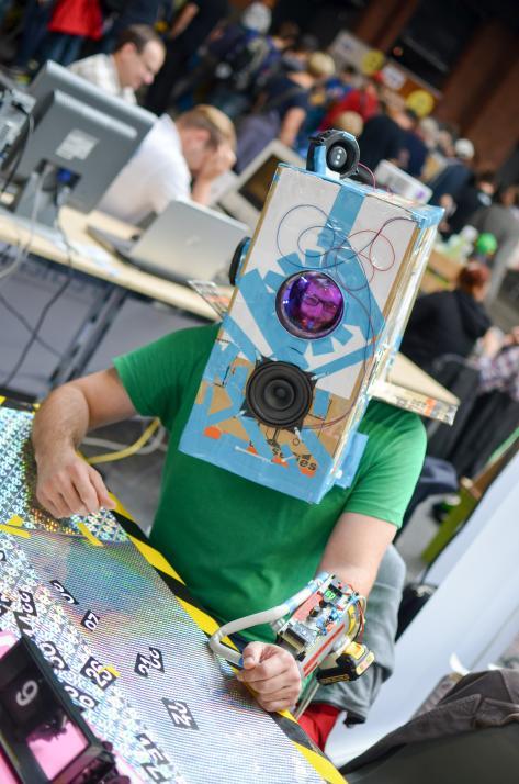 Kreativität wird auf der Maker Faire gefördert