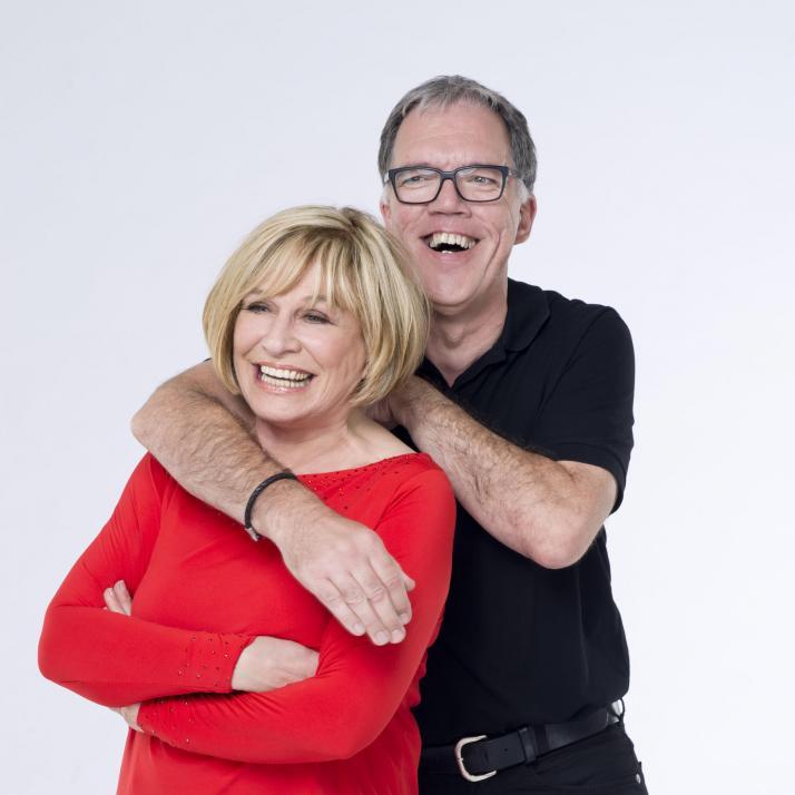 Mary Roos und Wolfgang Trepper liefern einen amüsanten Schlagabtausch