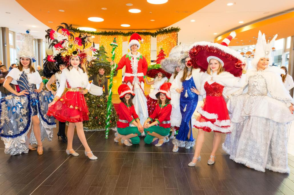 """Die beliebte """"White Christmas Parade"""" verbreitet schon Anfang Dezember festliche Stimmung"""