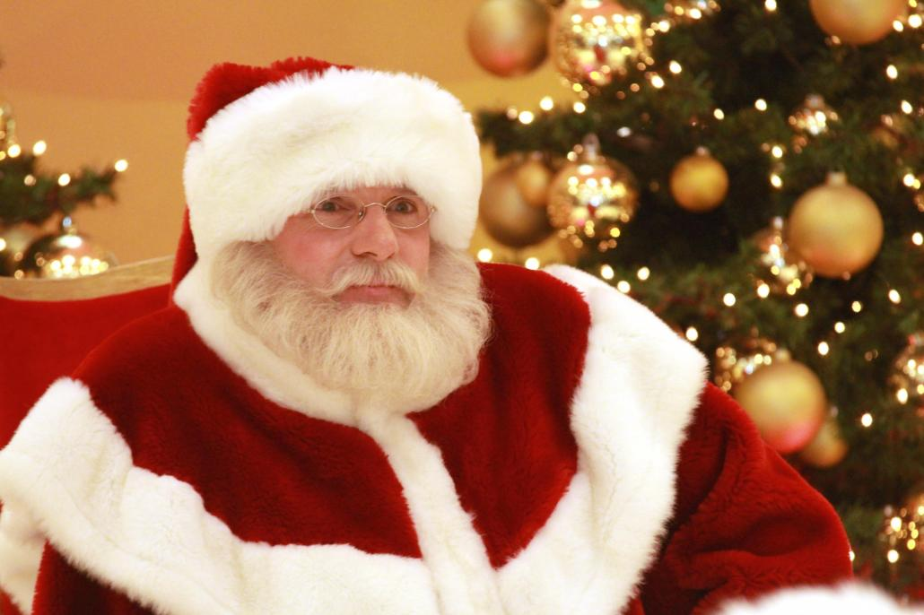 Auch der Weihnachtsmann höchstpersönlich wird dabei sein