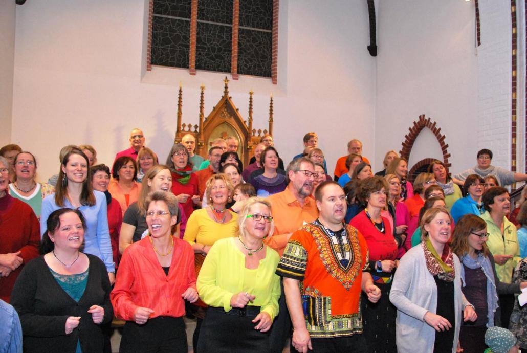 Der Chor bietet seinen Zuhörern ein vielseitiges Programm