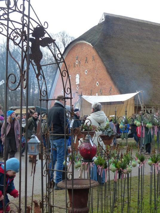 Festliche Dekoration, leckeres Essen und vieles mehr können die Besucher entdecken