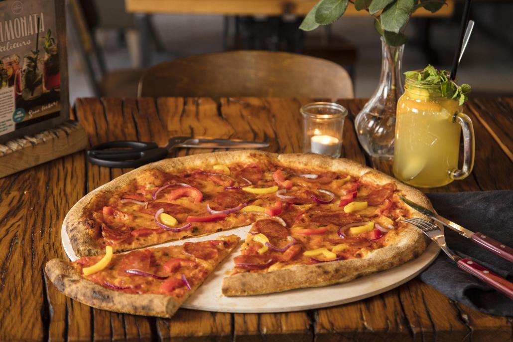 Nicht nur Pizza wird hier nach traditionellen Rezepten hergestellt
