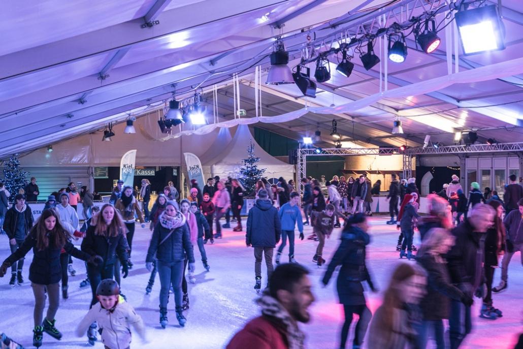 Das Eisfestival der Stadtwerke begeistert Groß und Klein