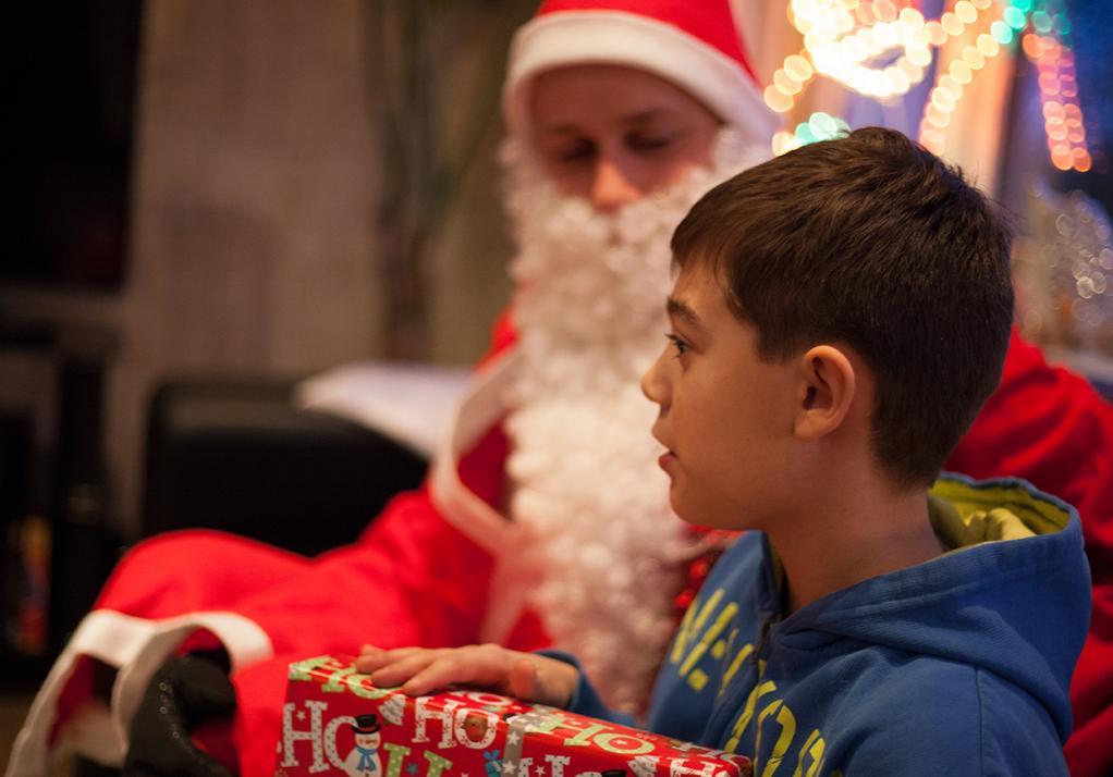 Wer mag, erzählt dem Weihnachtsmann noch, wie besonders brav er 2017 war …