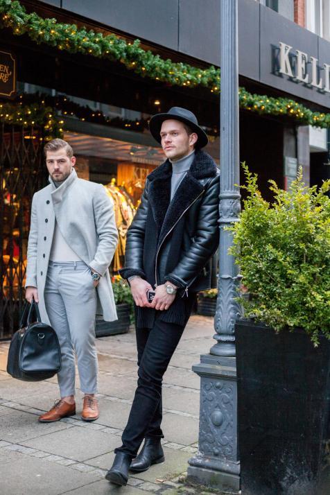 Das trägt Kiel: Im Januar mit Unternehmer Philip Strazewski und Modedesigner Julian Melgers