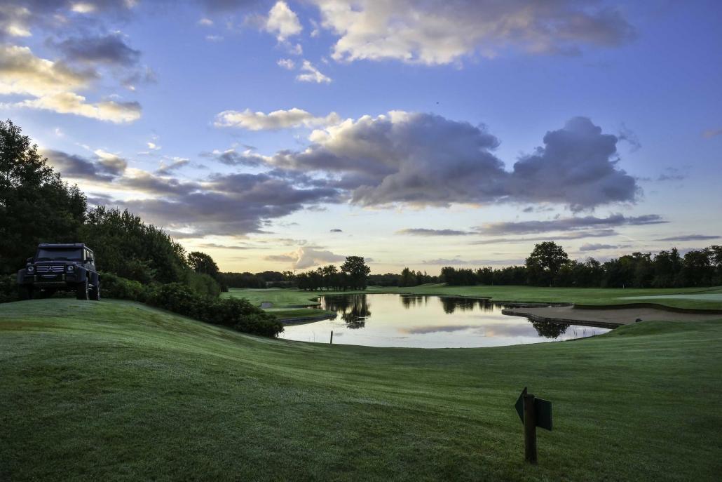 Im Golfhotel Gut Apeldör fastet man in malerischem Ambiente