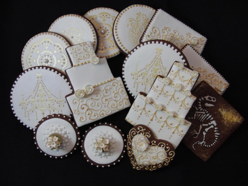 Süße Gastgeschenk-Idee: verziertes Gebäck im Wunschdesign
