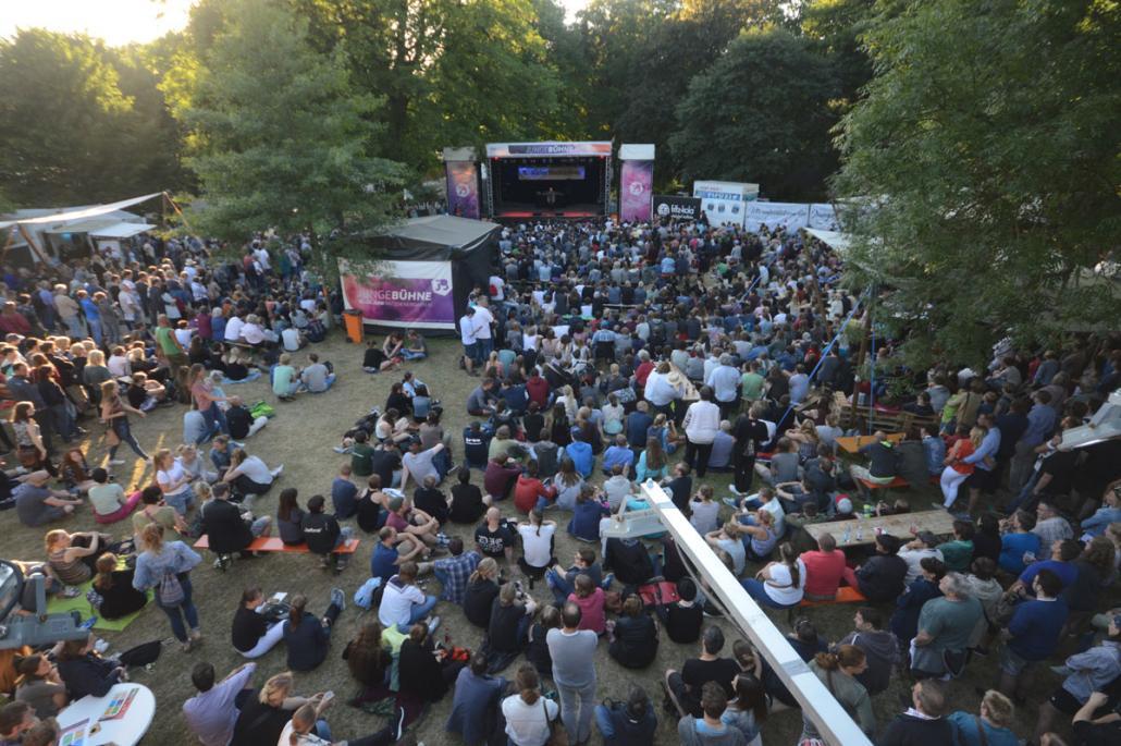 Die Junge Bühne ist bei der Kieler Woche immer besonders beliebt